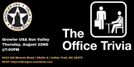 The Office Trivia at Growler USA Sun Valley tickets