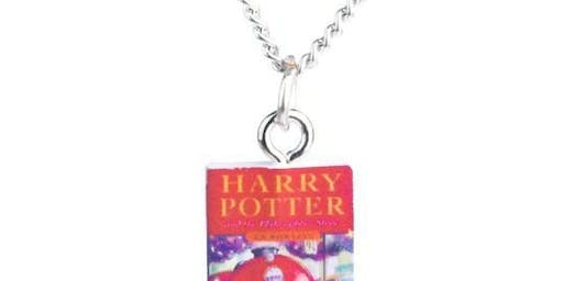 Tiny Book Necklaces