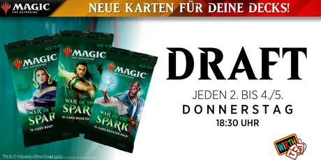 Magic: DRAFT - Krieg der Funken Saison Tickets