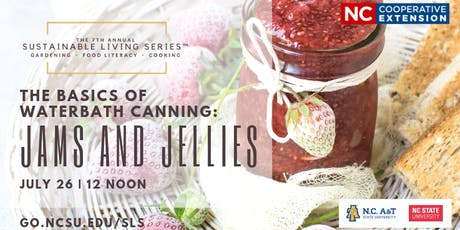 The Basics of Waterbath Canning: Jams and Jellies tickets