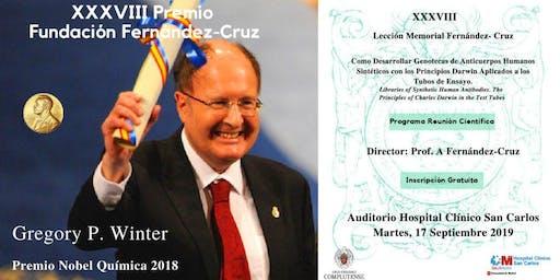XXXVIII Lección Memorial Fernández-Cruz