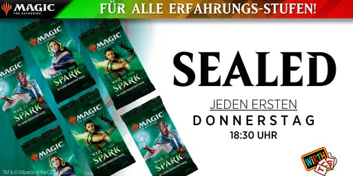 Magic: SEALED - Krieg der Funken Saison