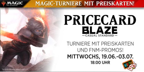 Magic: BLAZE - Pricecard Tickets