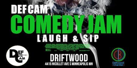 Def Cam : Laugh & Sip tickets
