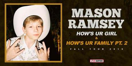 Mason Ramsey tickets
