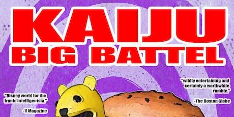 Kaiju Big Battel tickets