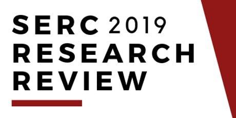 2019 SERC RESEARCH REVIEW tickets