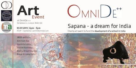 Sapana - a dream for India tickets
