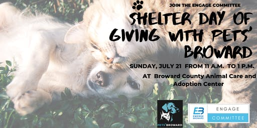 Shelter Day of Giving with Pets' Broward