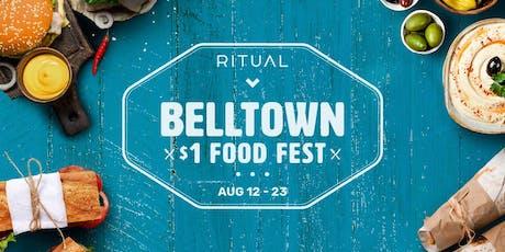 $1 Food Festival - Belltown tickets