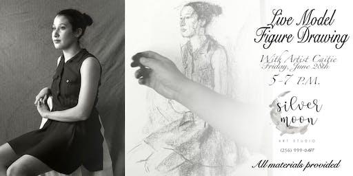 Live Model Figure Drawing