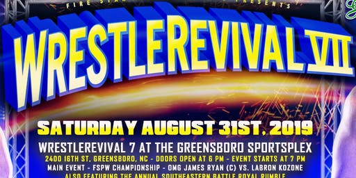 FSPW Presents: WrestleRevival VII @ The Greensboro Sportsplex