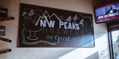 Pop-Up at NW Peaks Brewery: Sharply Brewery Tour  tickets