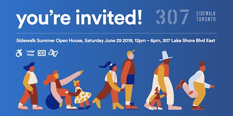 Sidewalk Summer Open House tickets