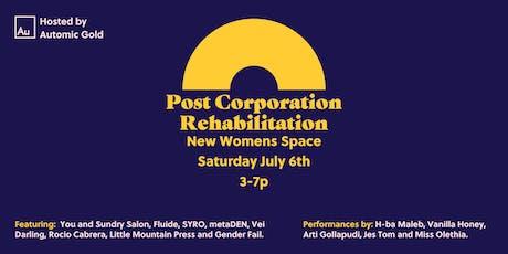 Post Corporation Rehabilitation tickets