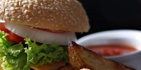Forge a Burger Night - design your own burger tickets