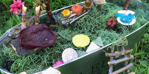DIY Fairy Garden - Blue Barn Cidery