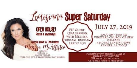 Louisiana Super Saturday - Open House w/ Melissa McAllister tickets