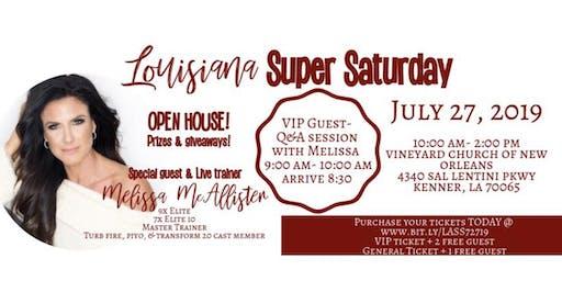 Louisiana Super Saturday - Open House w/ Melissa McAllister