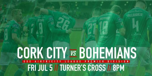 Cork City FC v Bohemian FC