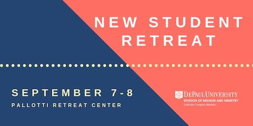 Discover New Student Retreat   DePaul University