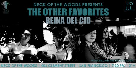 The Other Favorites, Reina del Cid tickets