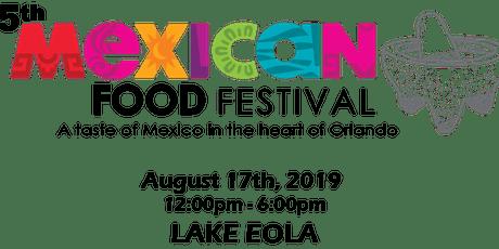 """Mexican Gastronomic Festival """"Ven a Comer"""" tickets"""