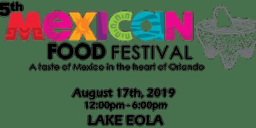 """Mexican Gastronomic Festival """"Ven a Comer"""""""