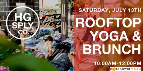 CorePower Rooftop Yoga & Brunch tickets