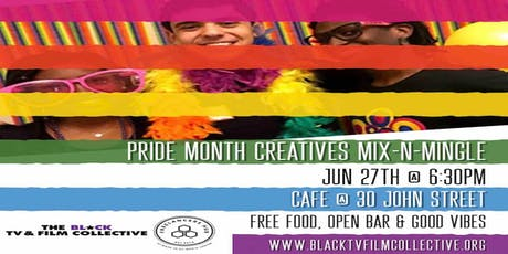 Pride Month Creatives Mixer tickets