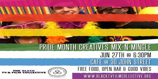Pride Month Creatives Mixer