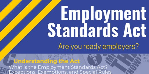 Employment Standards Act Information Session