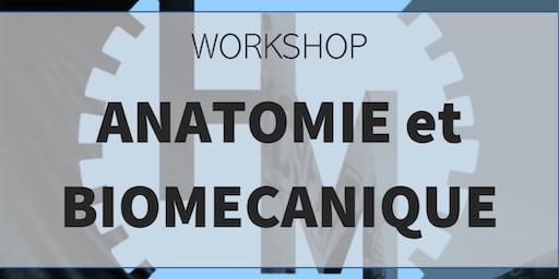 Workshop anatomie et biomécanique (w/ Lecuy T et Depasse V)