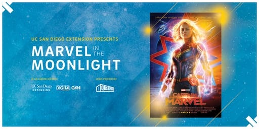 UC San Diego Extension and Digital Gym Cinema present Marvel in the Moonlight