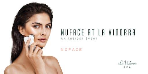NuFace at La Vidorra Spa