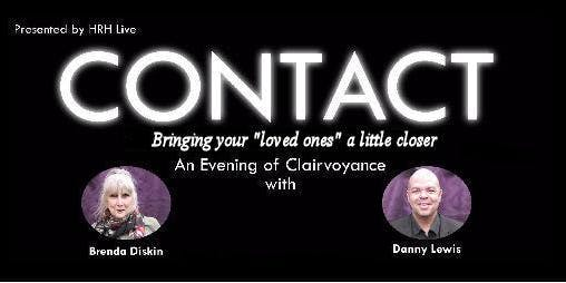 Contact Clairvoyant Evening With Brenda Diskin, Danny Lewis, Joan Rutter and Guest