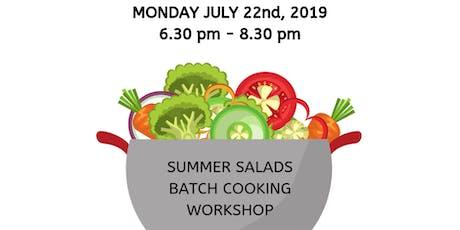 Summer Salads, Batch Cooking Workshop tickets