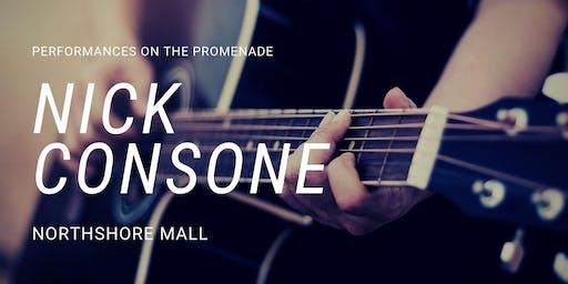 Nick Consone at Northshore Mall Promenade