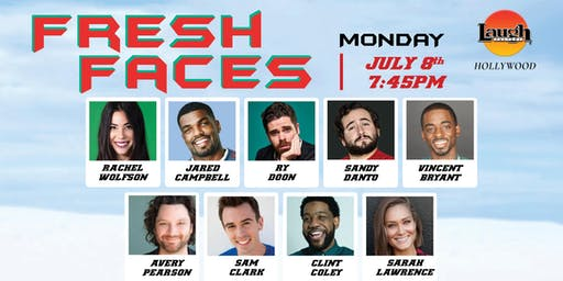 Fresh Faces - The best upcoming talents in Standup Comedy!