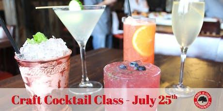Craft Cocktail Class tickets