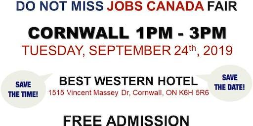 Cornwall Job Fair - September 24th, 2019