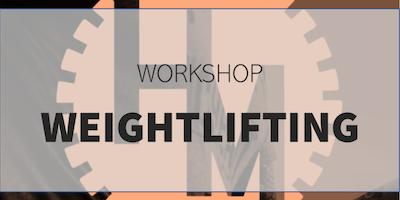 Workshop Weightlifting (w/ Glorieux C)