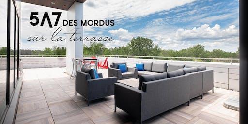 5@7 des Mordus sur la terrasse