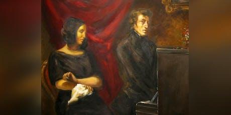 """""""Man bewundert Sie. George."""" - Eine Chopin-Sand-Soirée Tickets"""