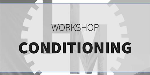 Workshop conditioning (w/ STIVE programming)