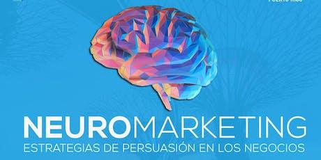 Neuromarketing: Estrategias de Persuasión en  los negocios  tickets