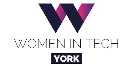 Women in Tech York - Self Care Tech tickets