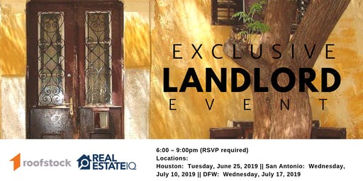 DFW - Exclusive Landlord Event