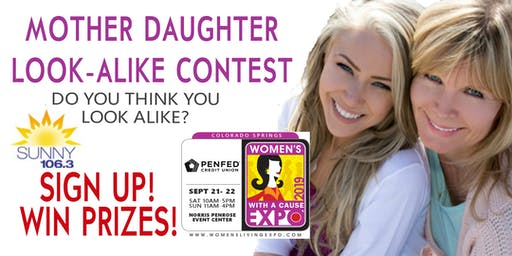 Mother Daughter Look-Alike Contest - Colorado Springs Women's Expo 2019