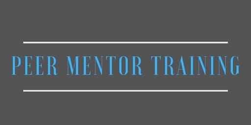 Peer Mentor Training: NOTL